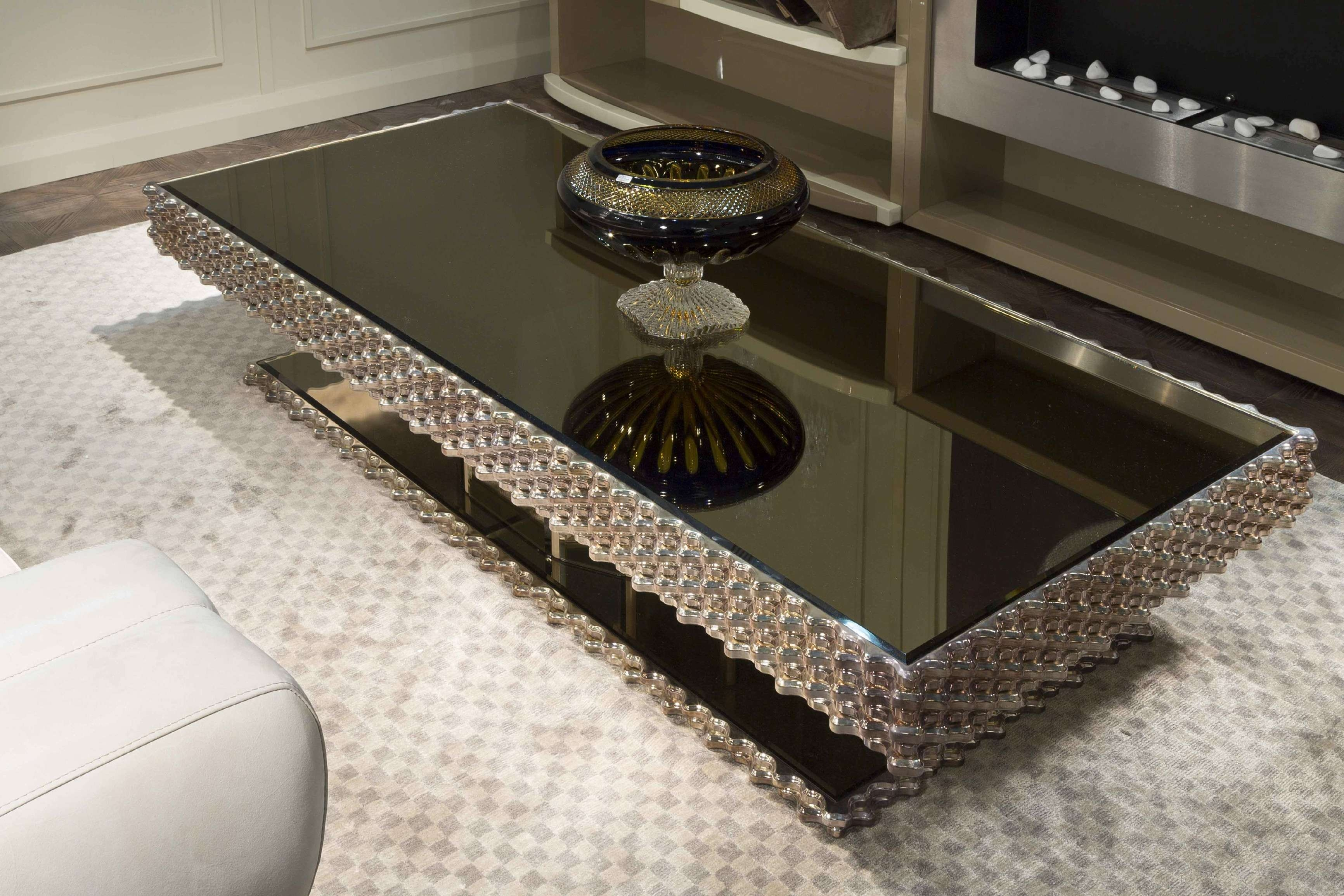 Coffee Table : Diy Mirrored Coffeeable Home Design Ideas And Within Preferred Coffee Tables Mirrored (View 15 of 20)