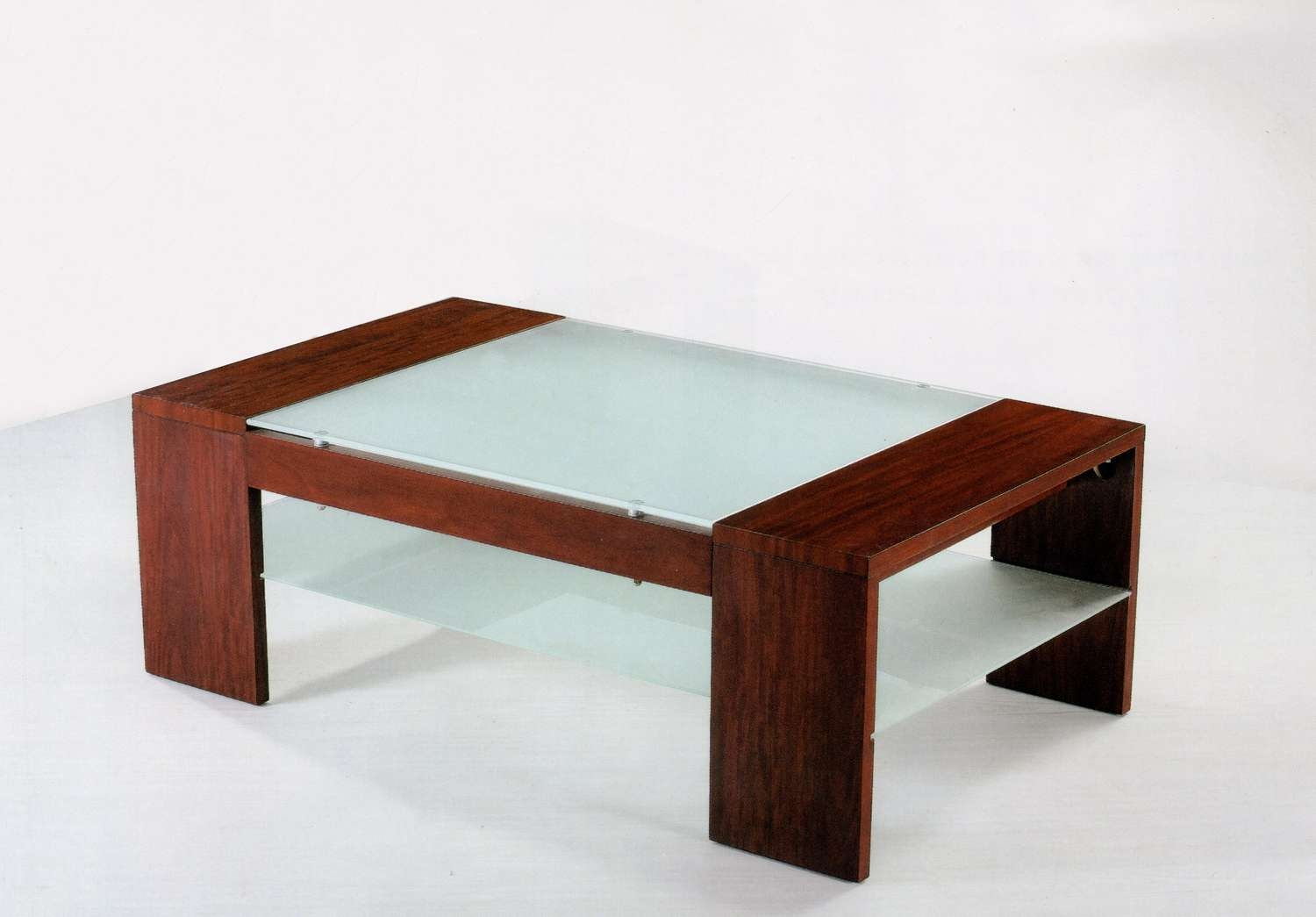 Coffee Table: Excellent Wood And Glass Coffee Tables Rectangle Throughout Well Known Glass And Wood Coffee Tables (View 7 of 20)