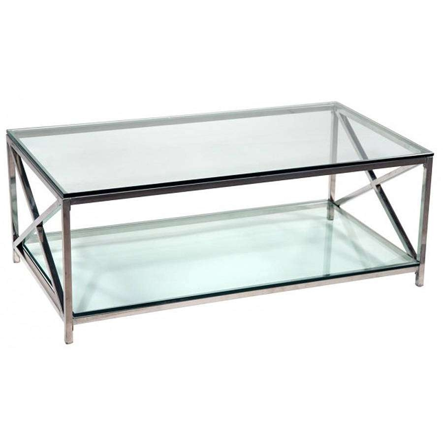 Coffee Table: Extraordinary Modern Chrome Coffee Table White And In Most Up To Date White And Chrome Coffee Tables (View 5 of 20)