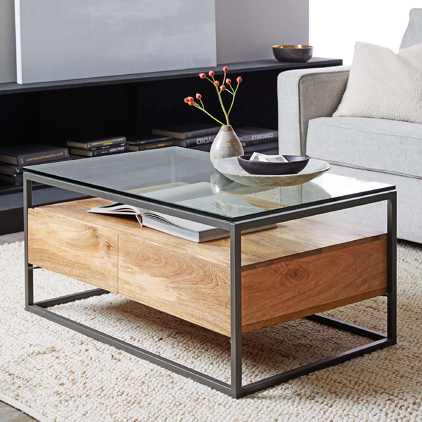 Coffee Table : Fabulous Coffee Table Sets Black Square Coffee In Newest Square Coffee Tables With Storage (View 4 of 20)