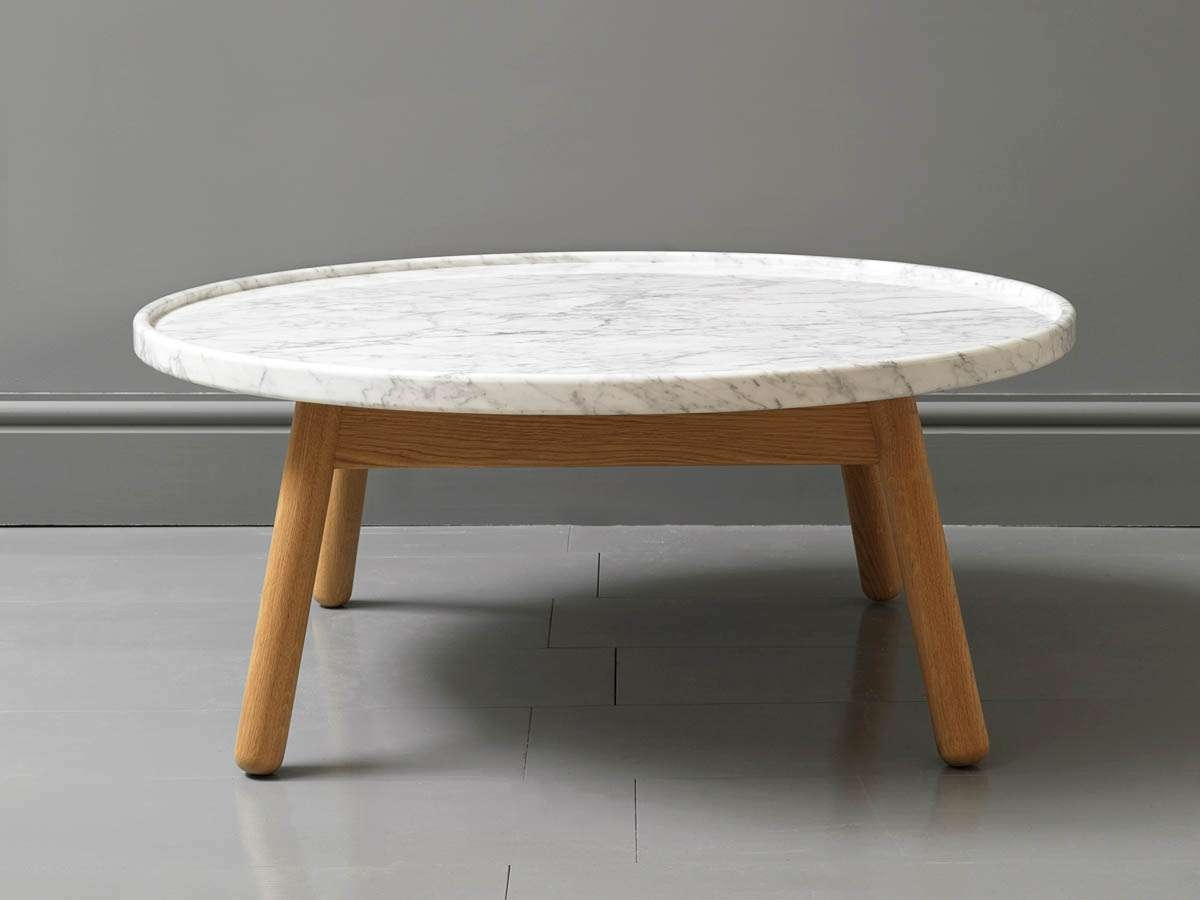 Coffee Table: Faux Marble Round Coffee Table Stone Coffee Tables Pertaining To Current Marble Round Coffee Tables (View 6 of 20)
