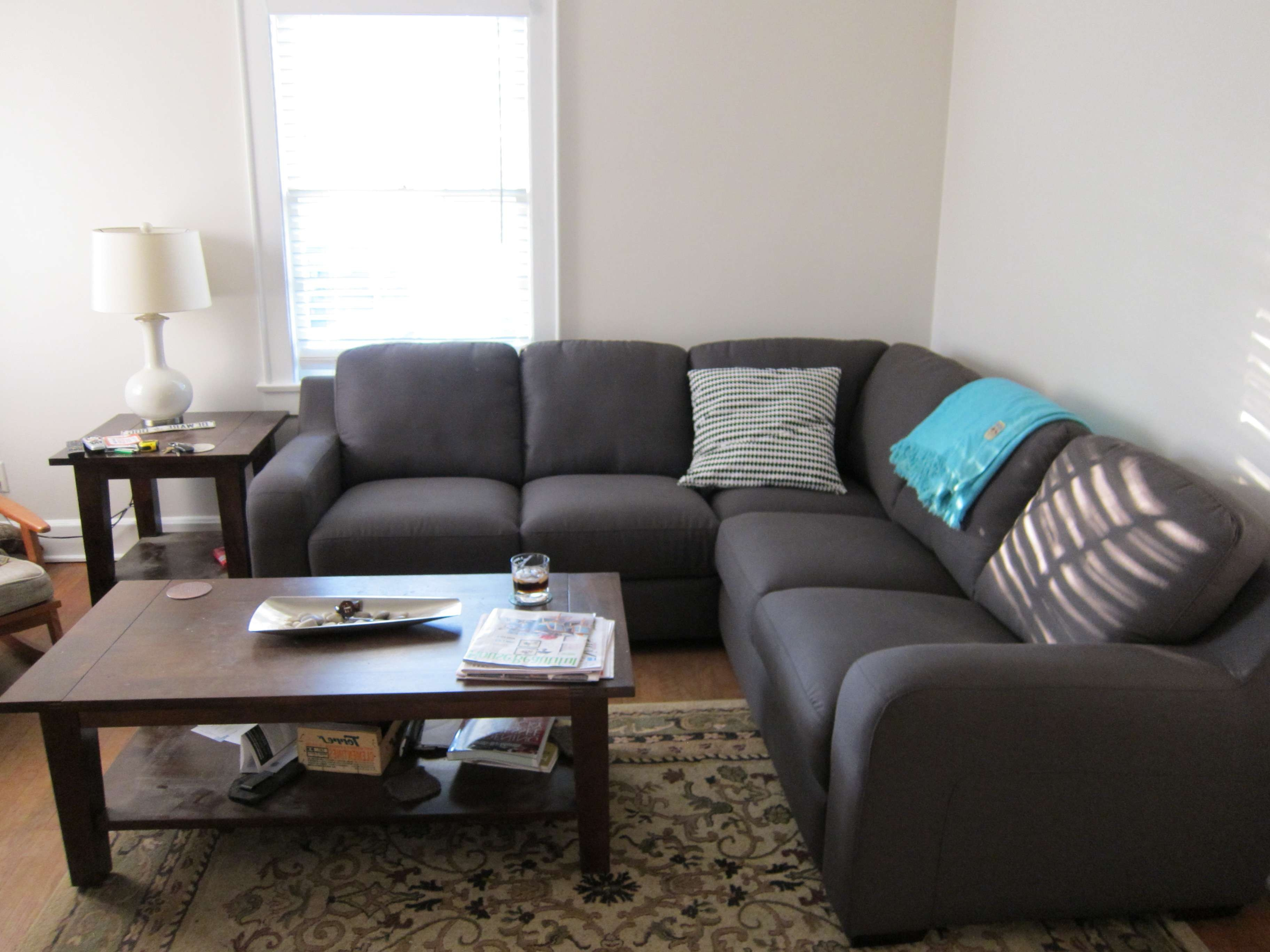 Coffee Table For Sectional Sofa With Chaise • Coffee Table Ideas Intended For Trendy Coffee Table For Sectional Sofa (View 9 of 20)