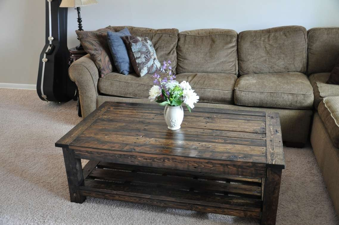 Coffee Table : Formidable Oversized Coffee Tables Images Design Intended For 2018 Extra Large Rustic Coffee Tables (View 2 of 20)
