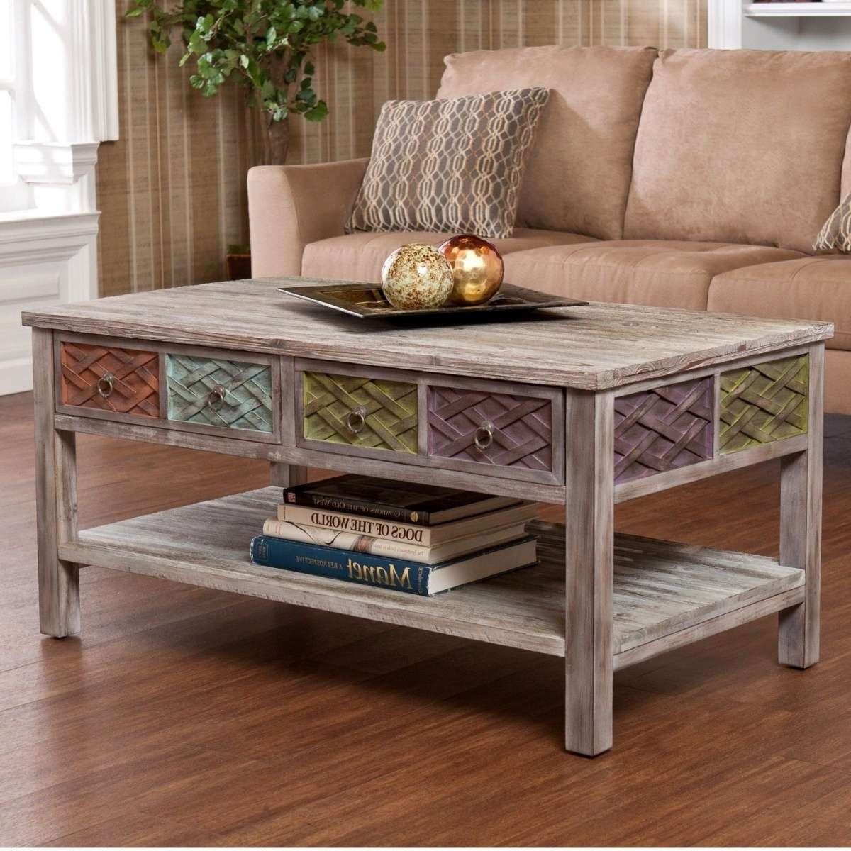 Coffee Table: Glamorous Ideas Of Coffee Table For Small Spaces For Most Recent Space Coffee Tables (View 8 of 20)