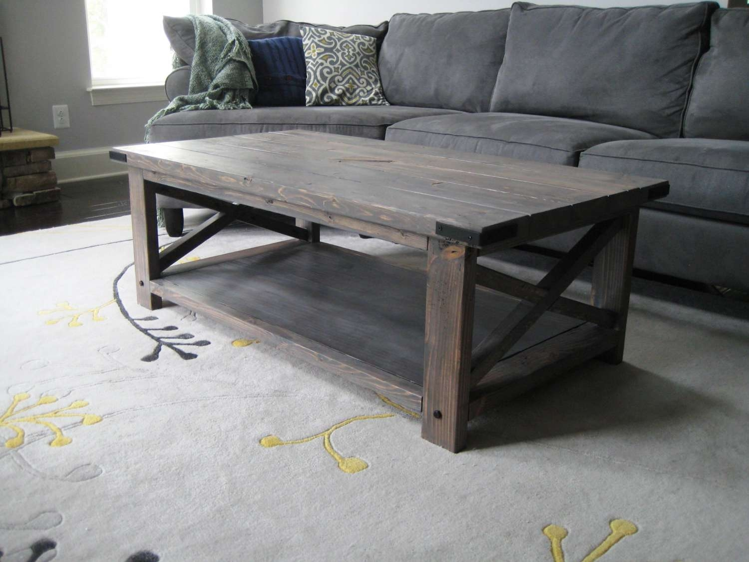 Coffee Table Gray Wood Coffee Table Grey Reclaimed Perfect Tables Inside Famous Grey Wood Coffee Tables (View 2 of 20)