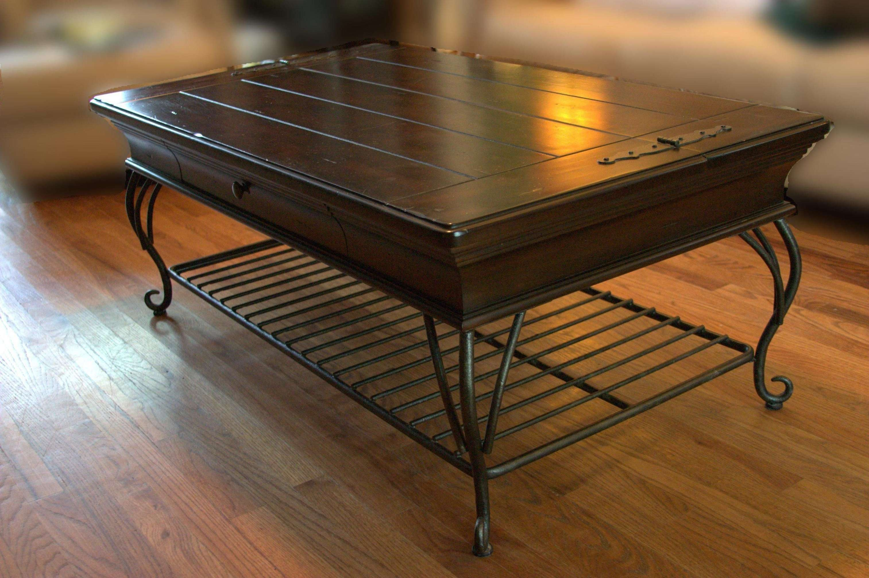Coffee Table : Grey Chest Coffee Table Trunk Chest For Sale Indian With Most Current Dark Wood Chest Coffee Tables (View 16 of 20)