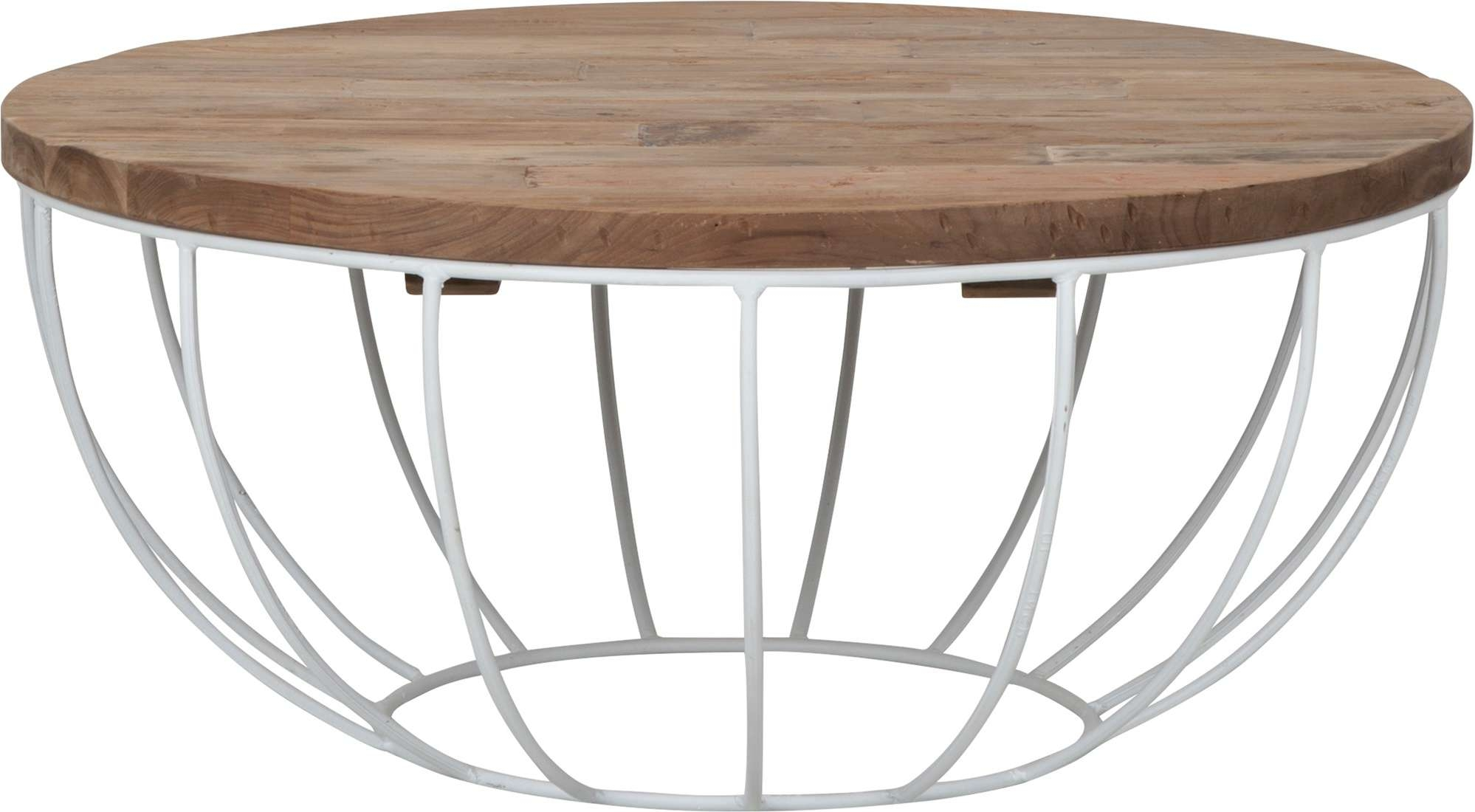 Coffee Table Madison, White Frame In Well Liked Madison Coffee Tables (View 17 of 20)