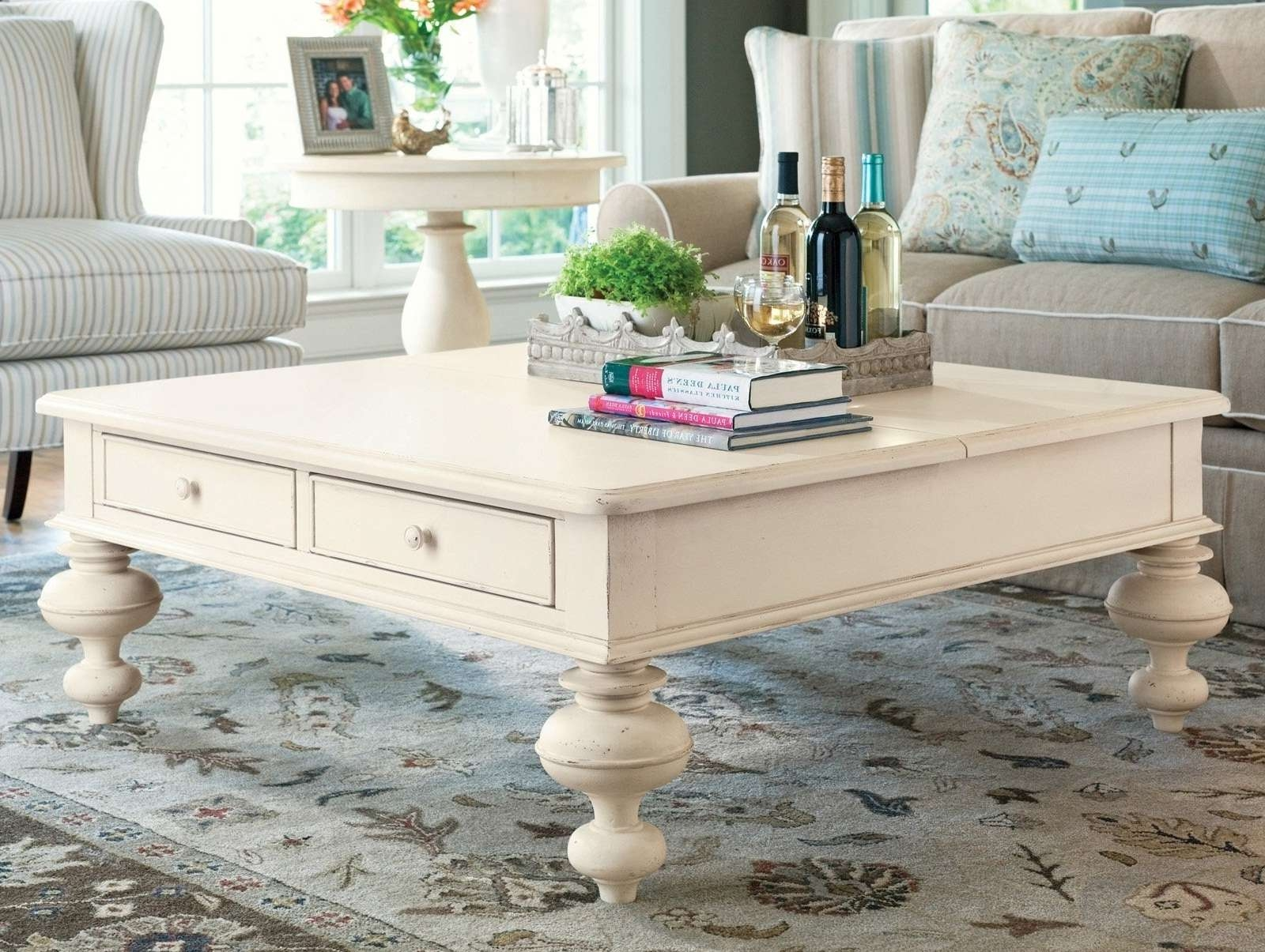Coffee Table : Magnificent Large Low Coffee Table Seagrass Coffee For Most Popular Large Low Square Coffee Tables (View 17 of 20)