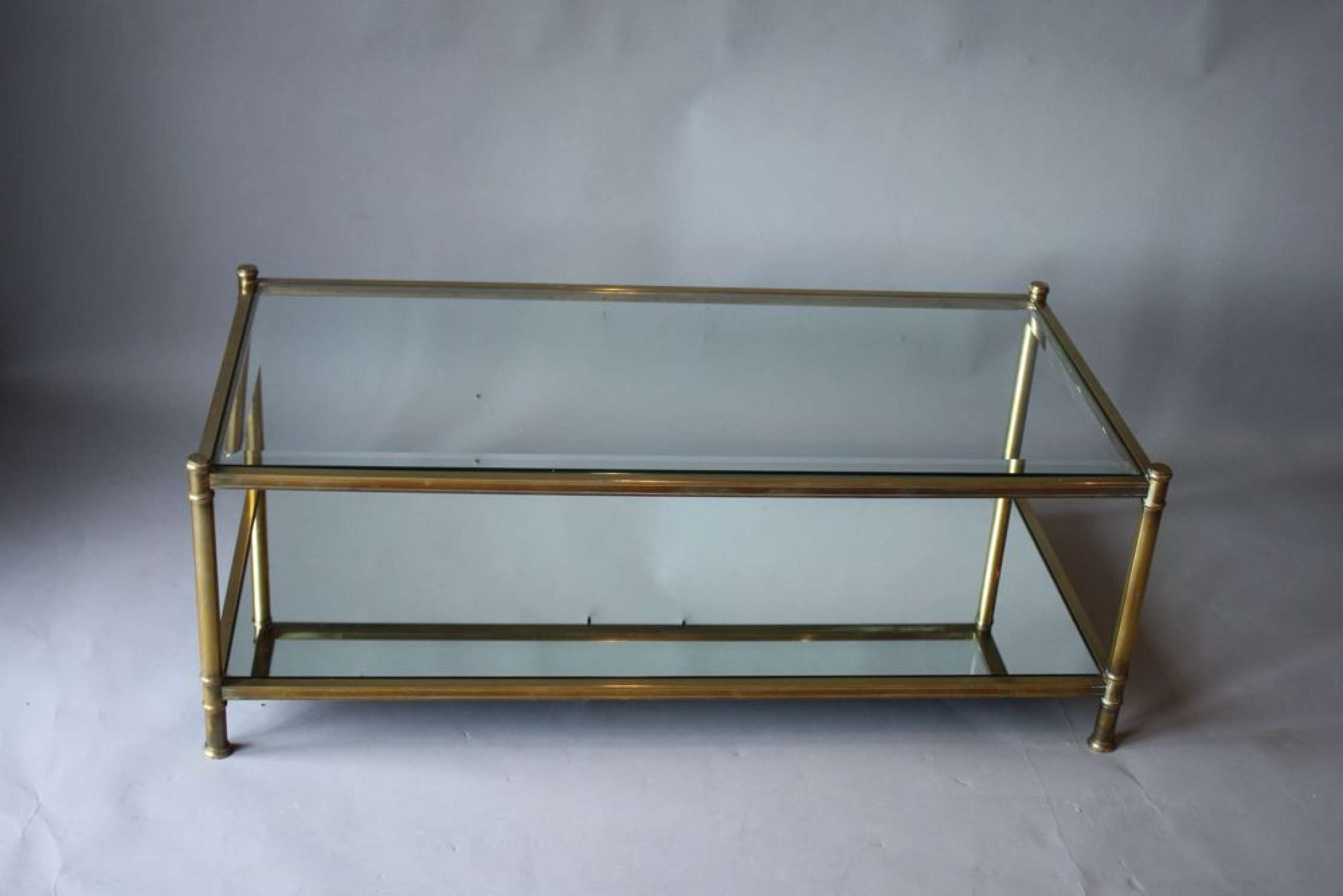 Coffee Table : Magnificent Low Coffee Table Coffee Table Designs Throughout Well Known Vintage Glass Coffee Tables (View 1 of 20)