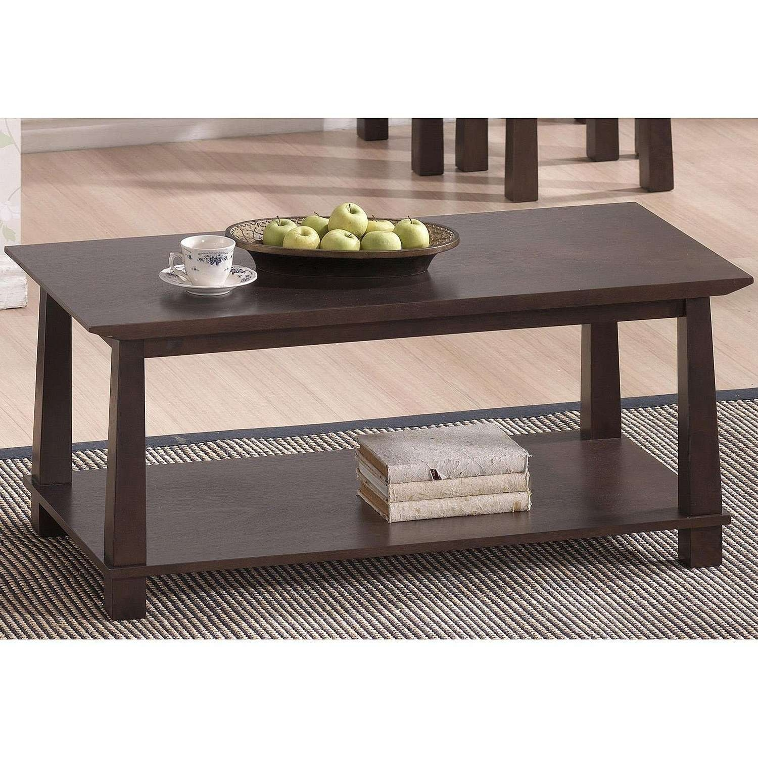 Coffee Table : Magnificent Monarch Dining Table Monarch Intended For Current Dark Brown Coffee Tables (View 4 of 20)