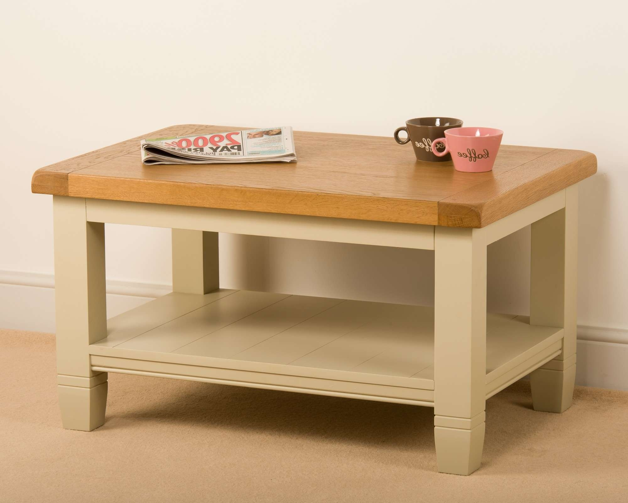 20 Inspirations of Cream And Oak Coffee Tables