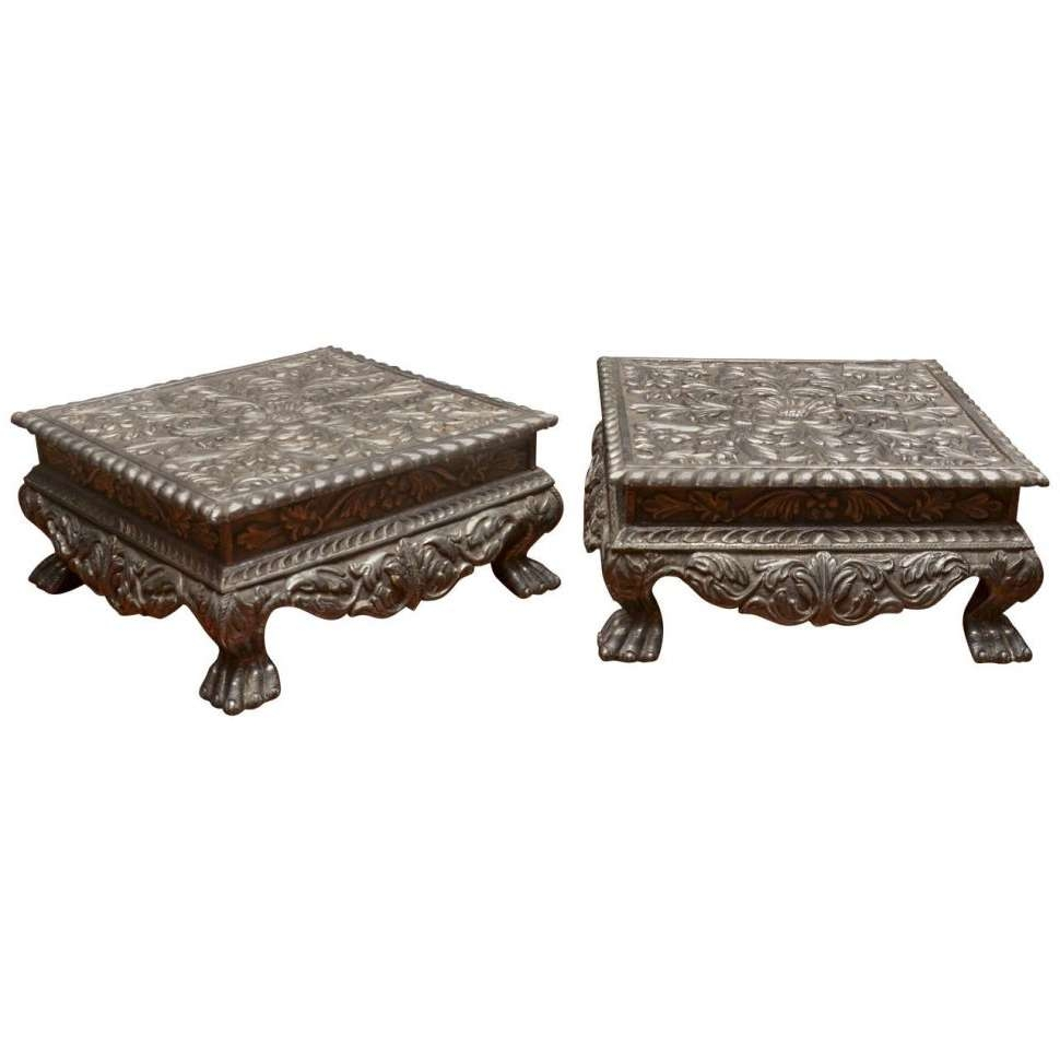 Coffee Table : Magnificent Square Coffee Table Industrial Coffee Regarding 2017 Indian Coffee Tables (View 11 of 20)