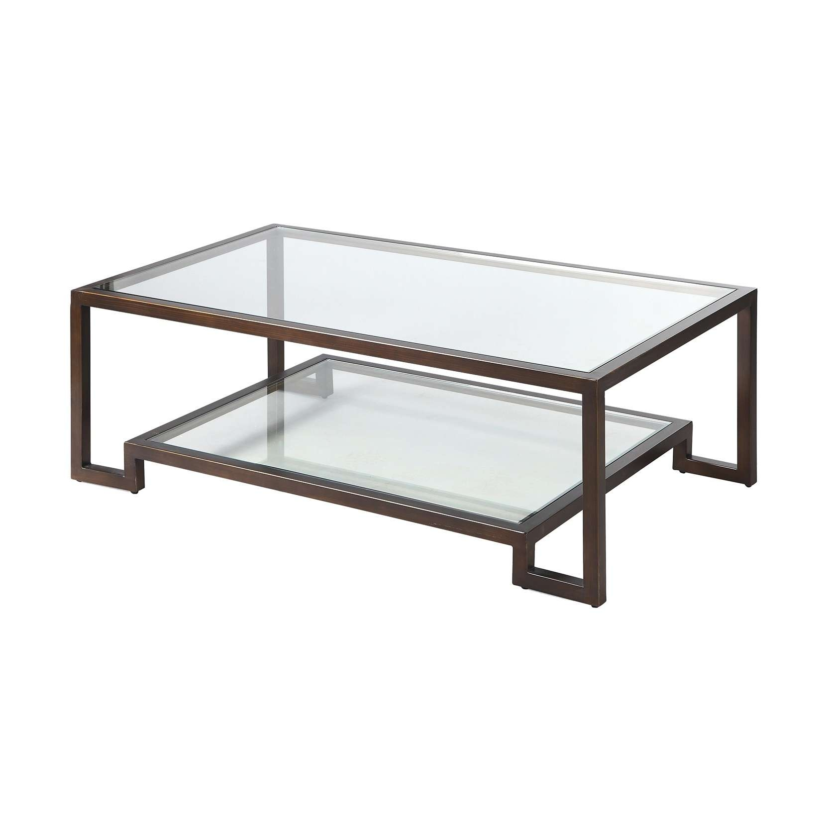 Coffee Table : Marvelous Coffee Table With Drawers Square Coffee With Regard To Favorite Bronze And Glass Coffee Tables (View 5 of 20)
