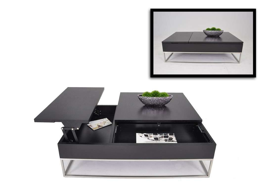 Coffee Table : Modern Coffee Tables With Storage Table Design Pertaining To Widely Used Modern Coffee Tables With Storage (View 3 of 20)