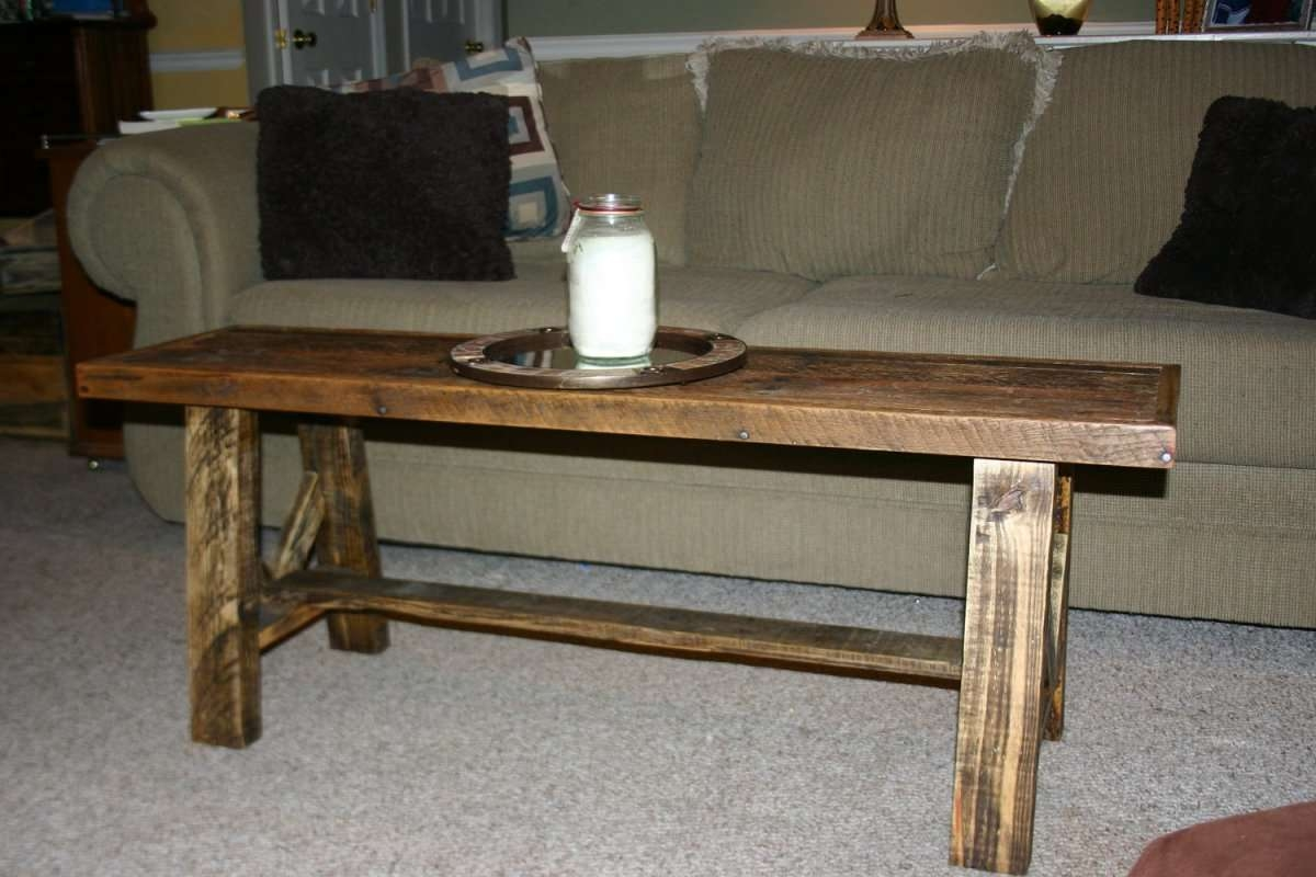 Coffee Table Oak Thin Coffee Tableethnicraft Narrow With For Best And Newest Thin Coffee Tables (View 14 of 20)