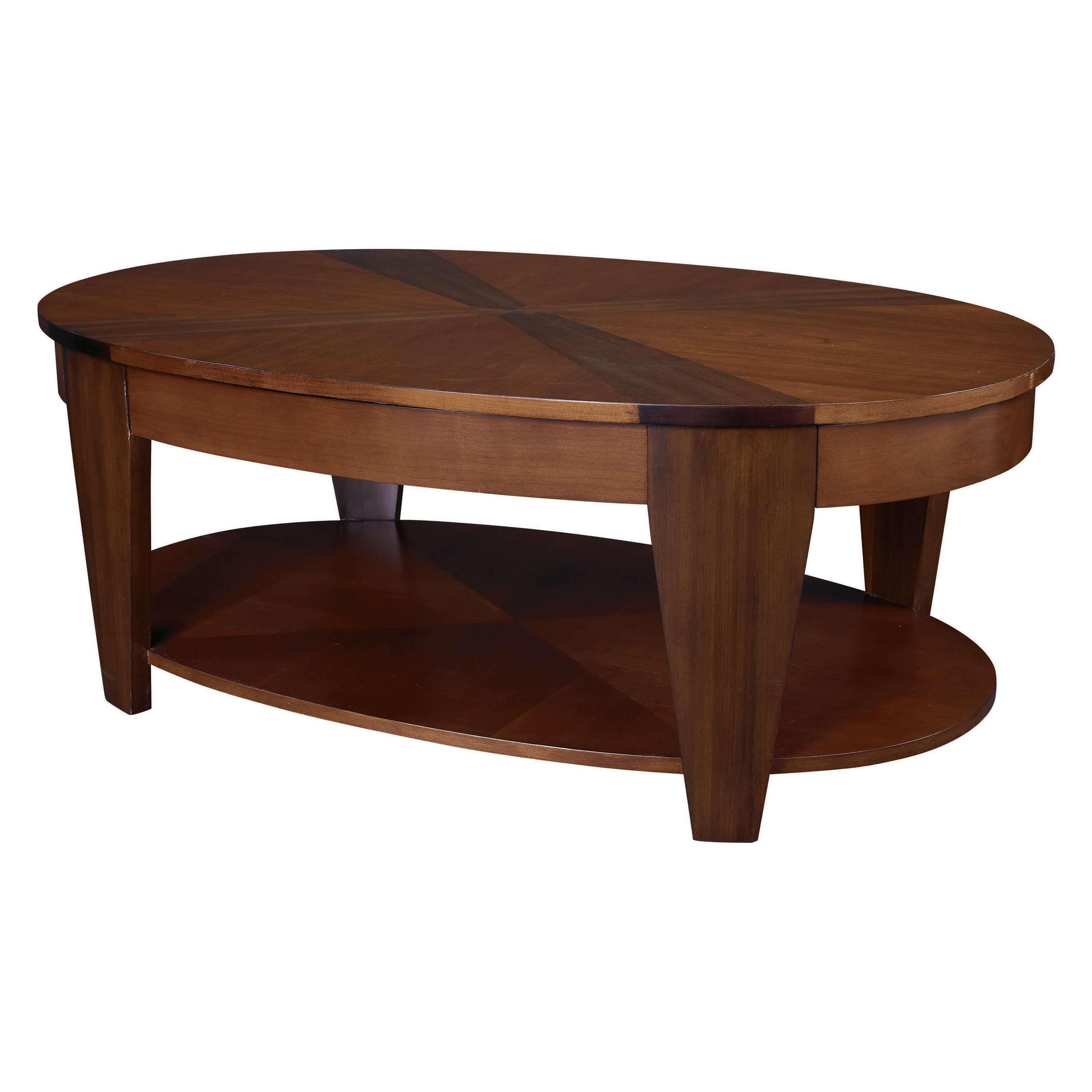 Coffee Table : Oval Coffee Table End Tables With Storage' Coffee Pertaining To Newest Oval Wood Coffee Tables (View 4 of 20)