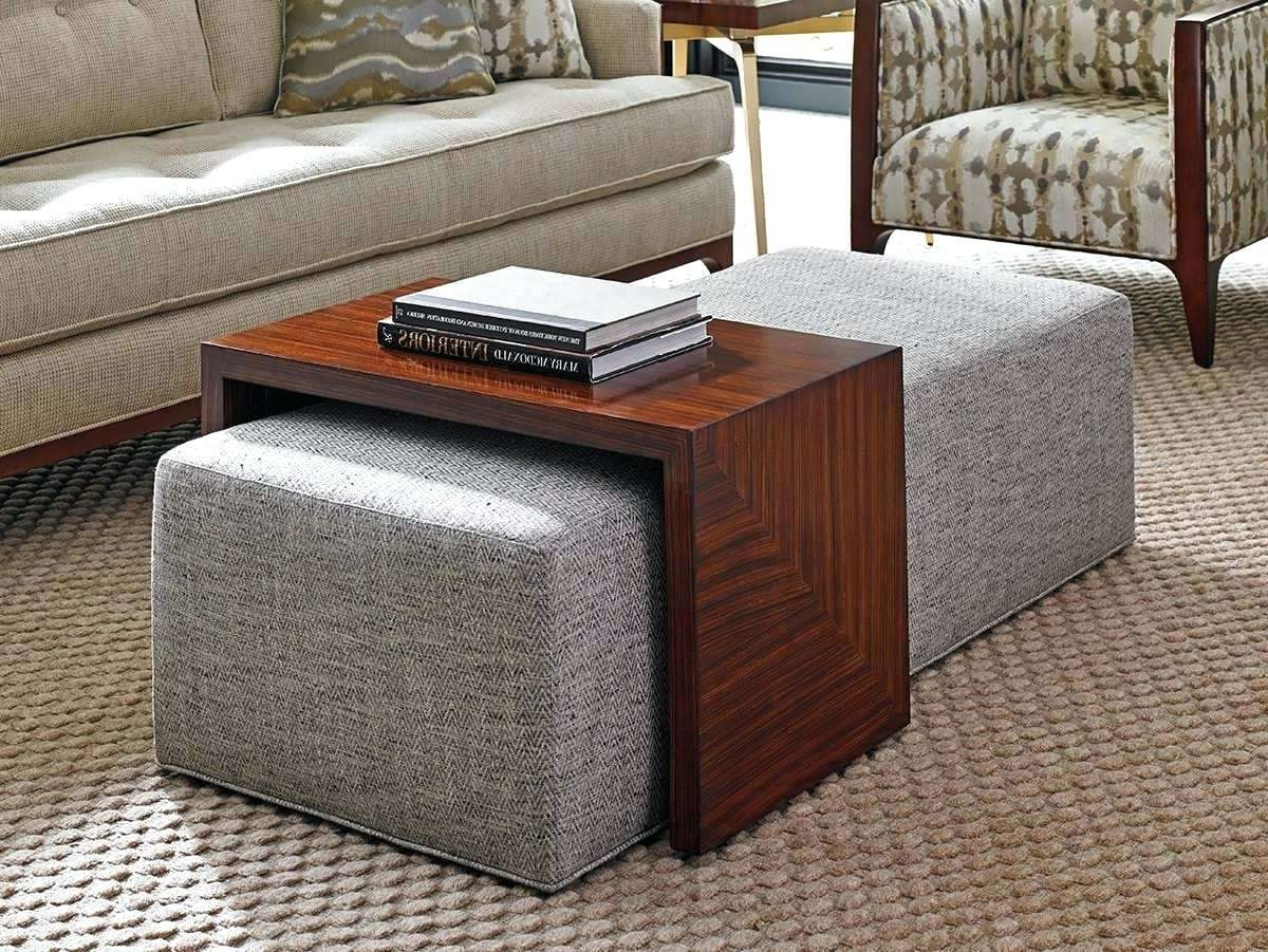 Coffee Table: Purple Ottoman Coffee Table (View 5 of 20)