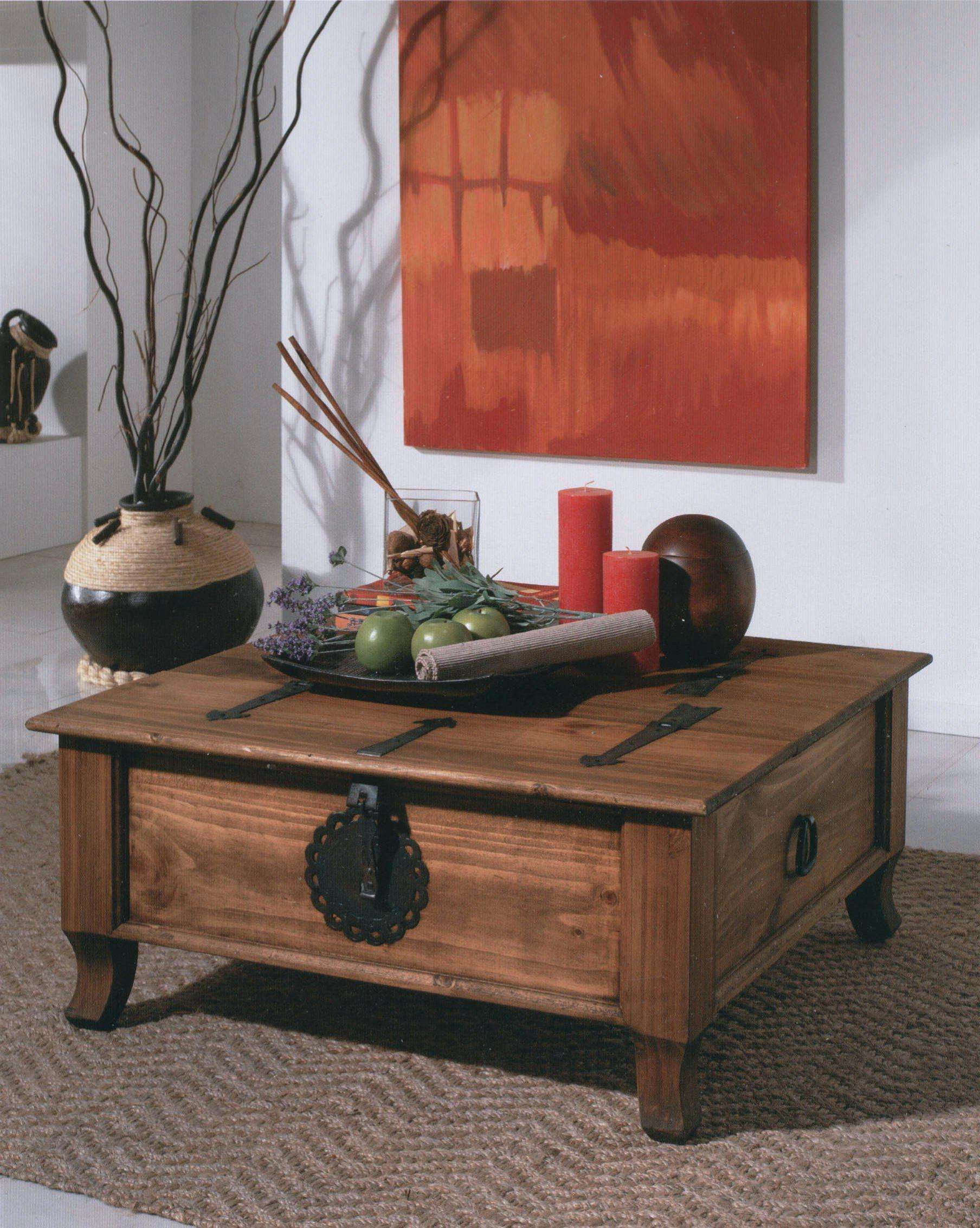 Coffee Table Reclaimed Square Dark Wood Trunk In Latest Wooden Trunks Tables