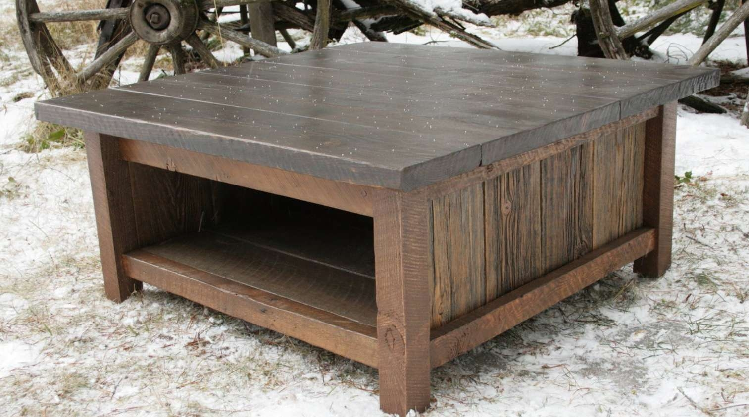 Coffee Table : Rustic Looking Coffee Tables Wondrous Rustic In 2018 Rustic Looking Coffee Tables (View 4 of 20)