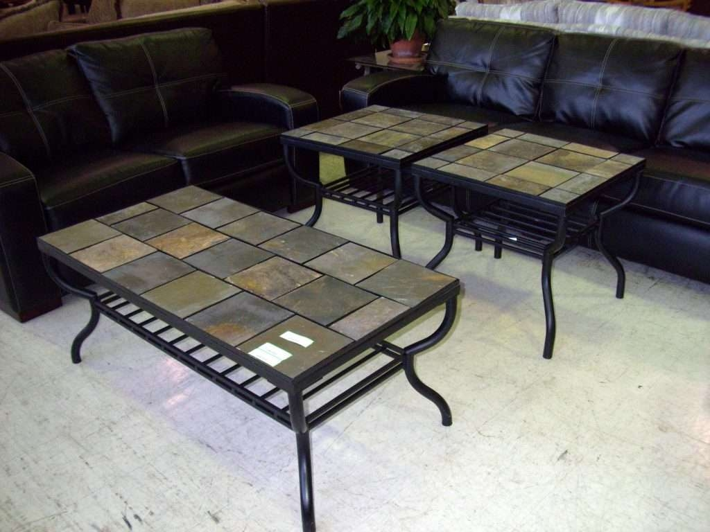 Coffee Table : Slate Top Coffee Table Lift With Set Ashley Antigo With Regard To 2018 Round Slate Top Coffee Tables (View 5 of 20)