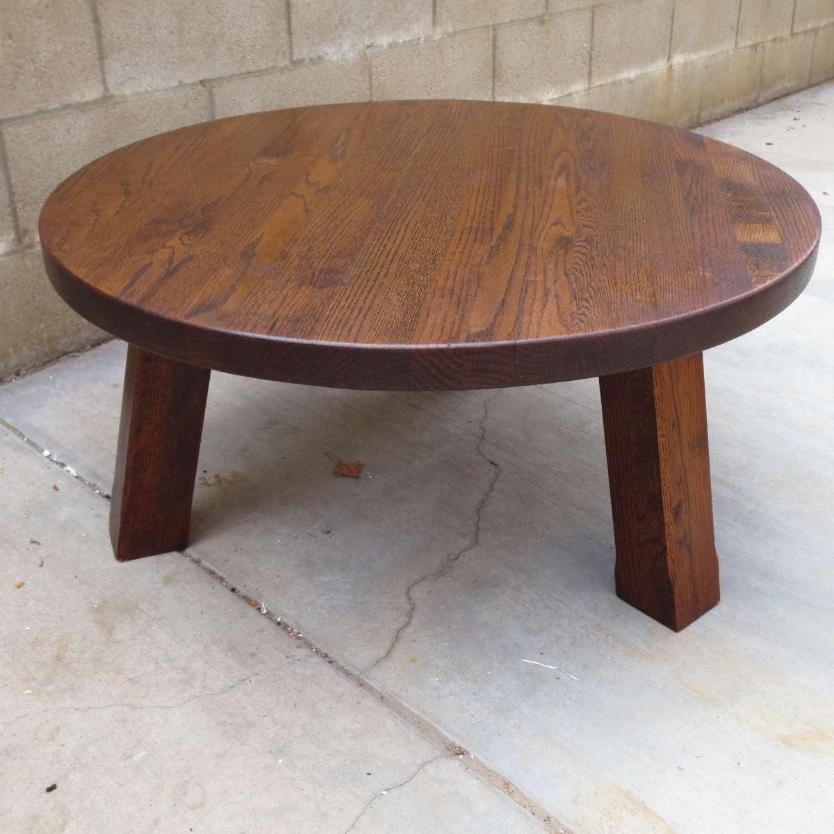 Coffee Table Small Round Oak Coffee Table Antique Tables Sale For Popular Round Oak Coffee Tables (View 3 of 20)