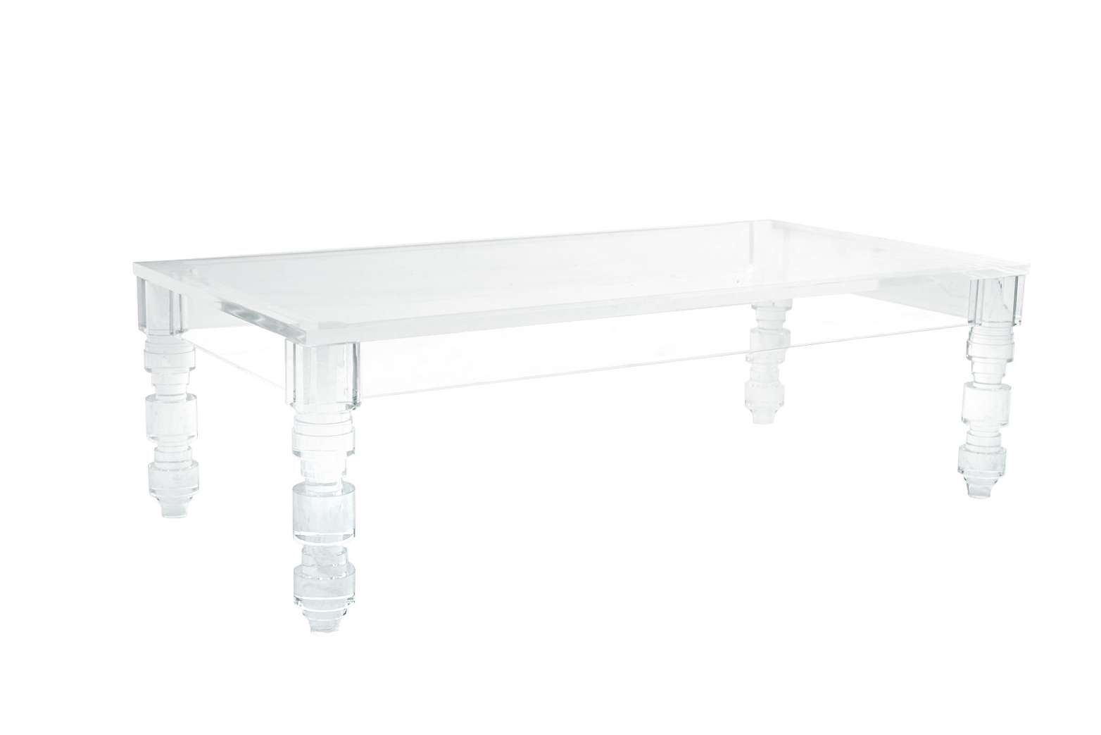 Coffee Table : Square Acrylic Coffeeable Decoration Singular Within 2017 Perspex Coffee Table (Gallery 18 of 20)