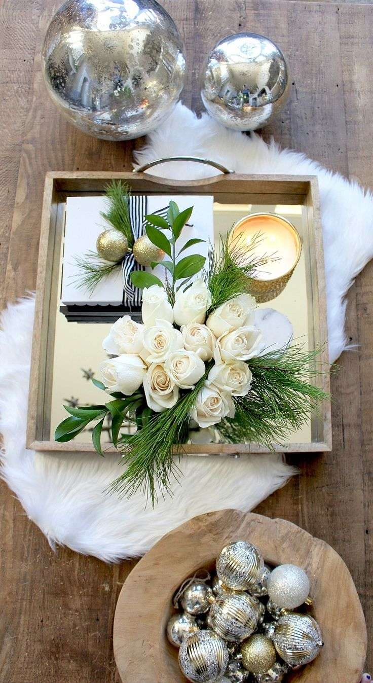 Coffee Table : Striking Coffee Tablemas Decorations Pictures Pertaining To Newest Rustic Christmas Coffee Table Decors (View 7 of 20)