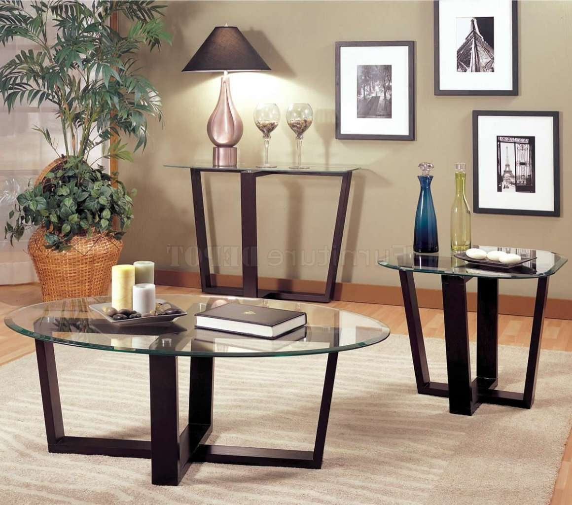 Coffee Table: Terrific Black Glass Coffee Table Set Glass End For Current Black Wood And Glass Coffee Tables (View 15 of 20)