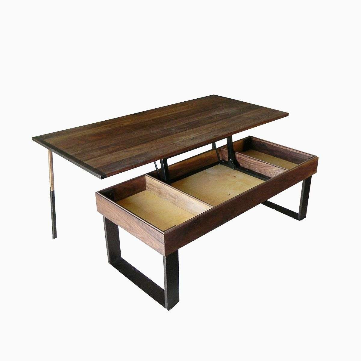 Coffee Table, Terrys Lift Top Pop Up Walnut And Wenge Transformer Throughout Most Popular Pop Up Top Coffee Tables (View 8 of 20)