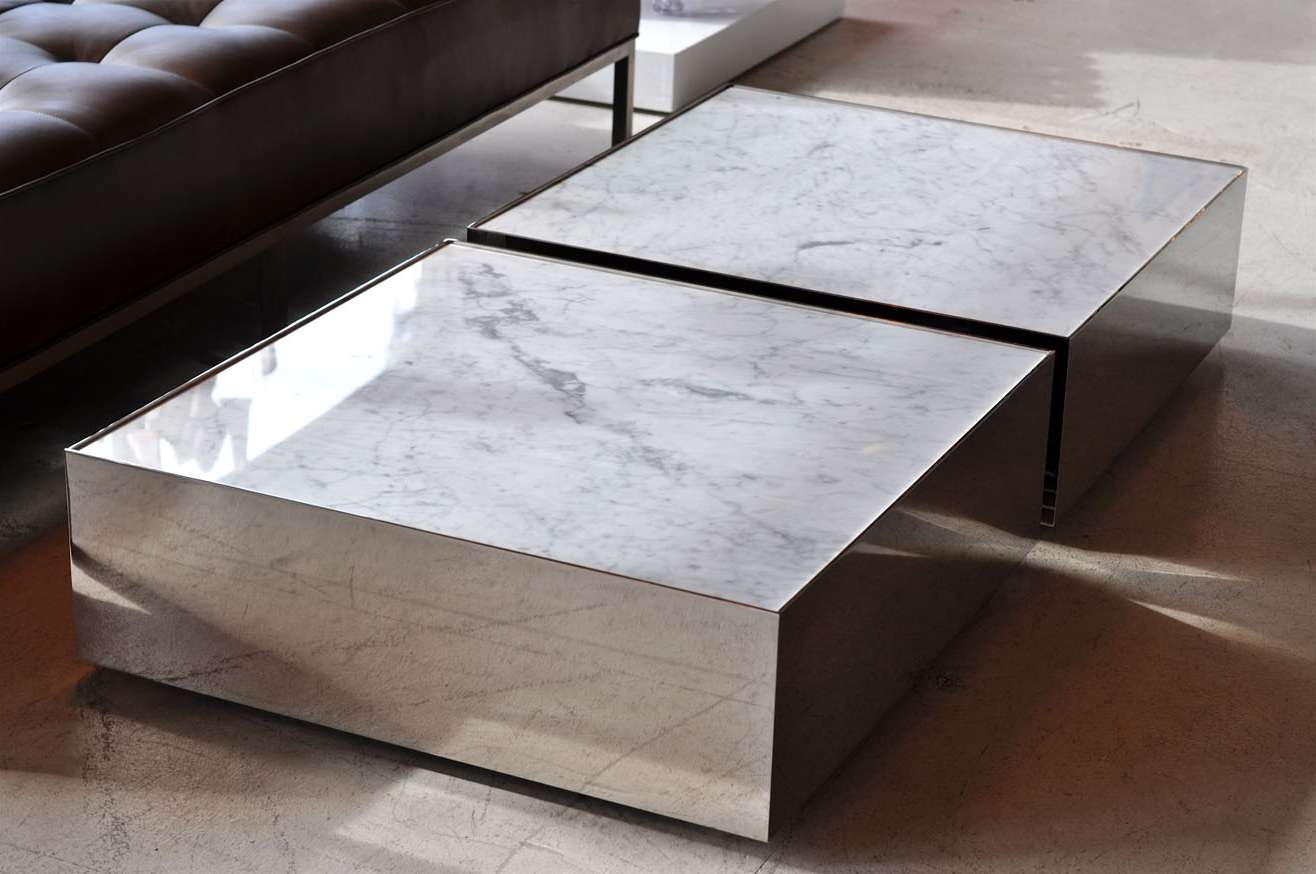 Coffee Table, White Marble Coffee Table Marble Coffee Tables For With Latest Marble Coffee Tables (View 5 of 20)