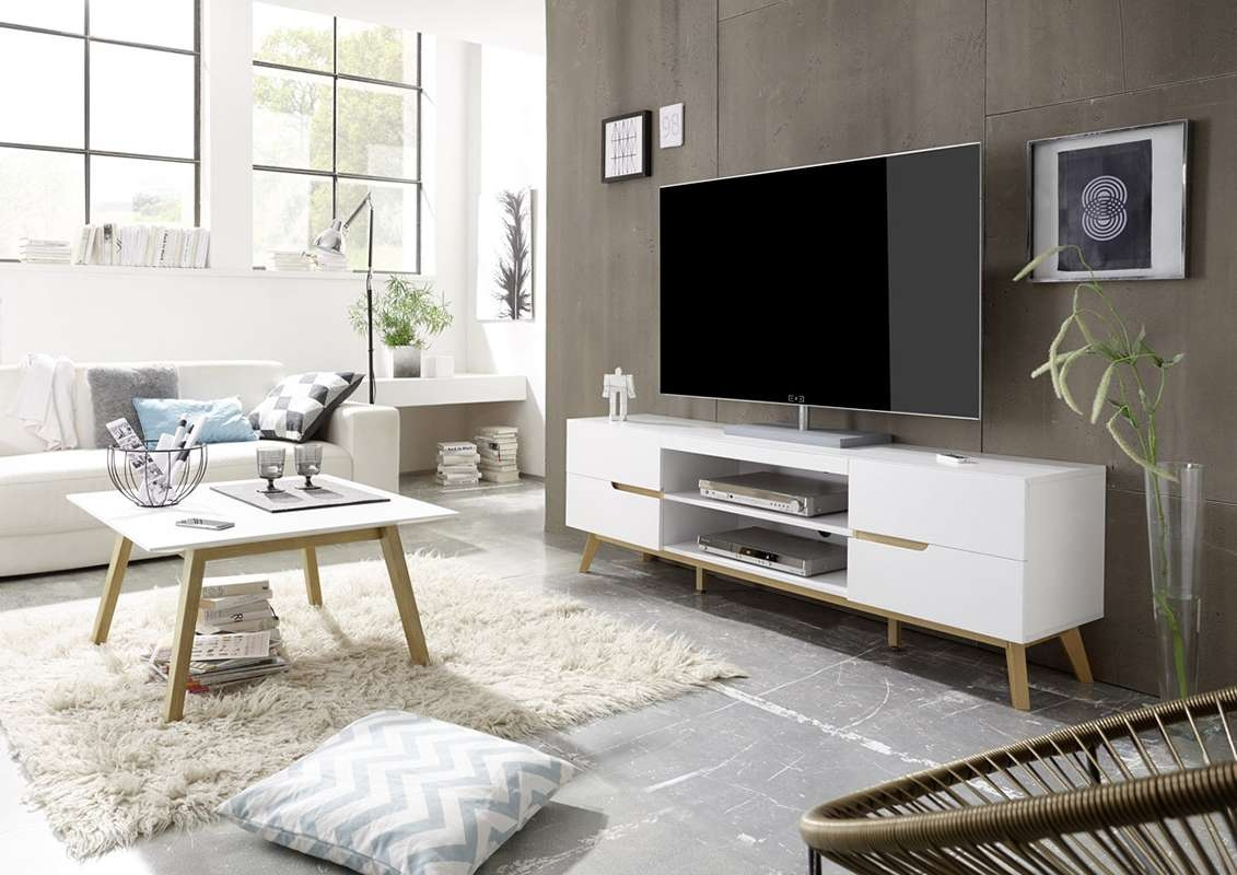 Coffee Table : White Tv Console Belham Living Hampton Stand Pertaining To Most Up To Date Tv Unit And Coffee Table Sets (View 12 of 20)