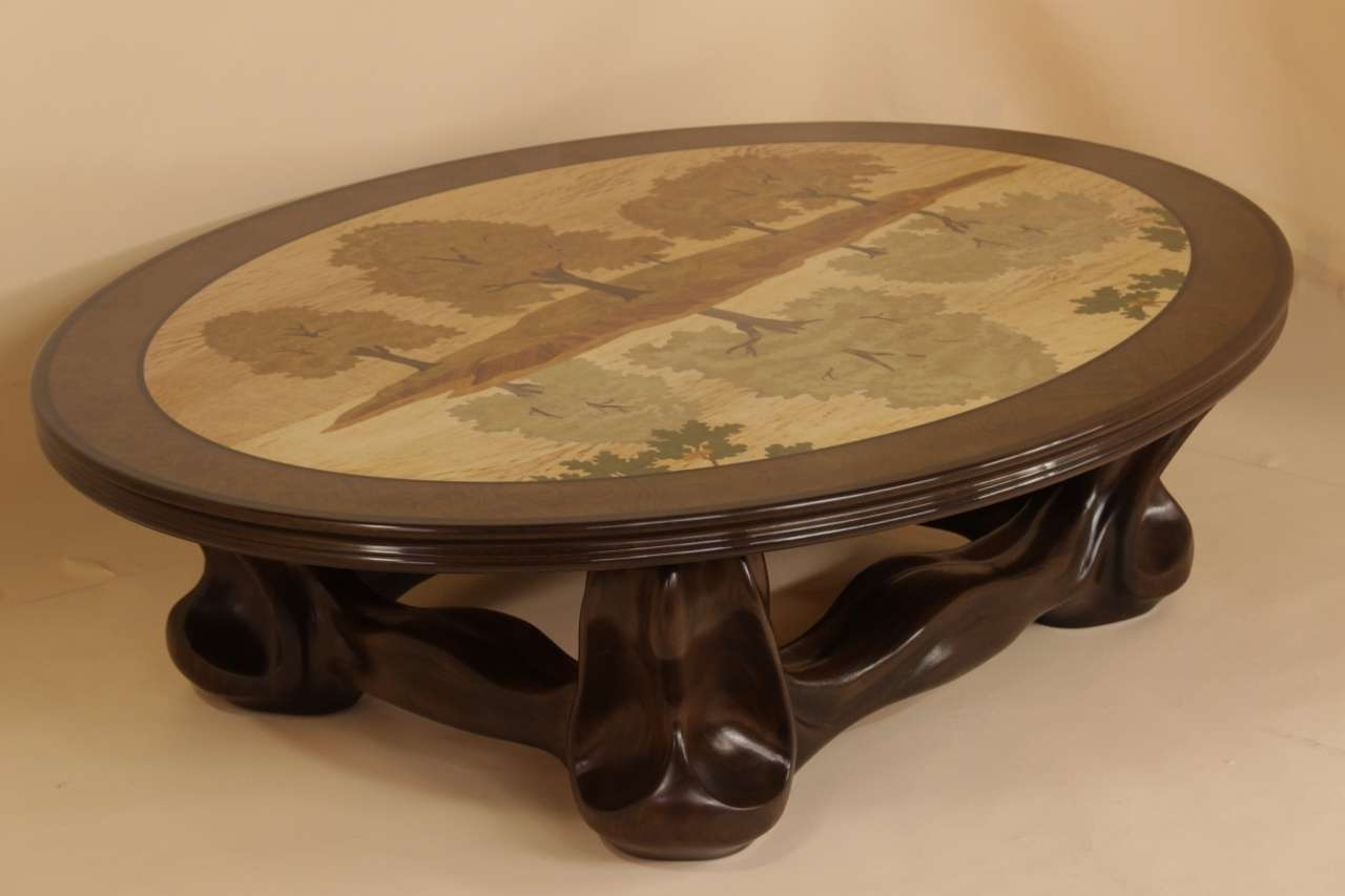 Coffee Table : Wonderful Copper Coffee Table Mahogany Coffee Table With Favorite Art Coffee Tables (View 4 of 20)