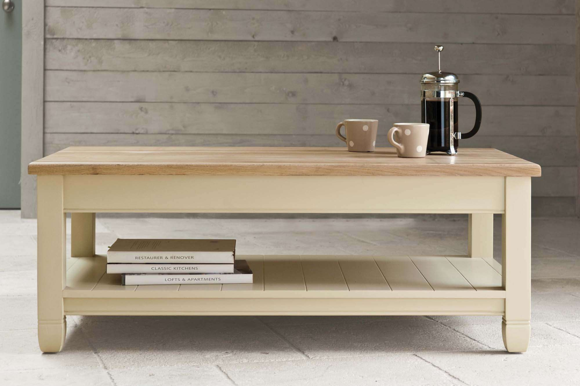 Featured Photo of Coffee Tables With Shelf Underneath