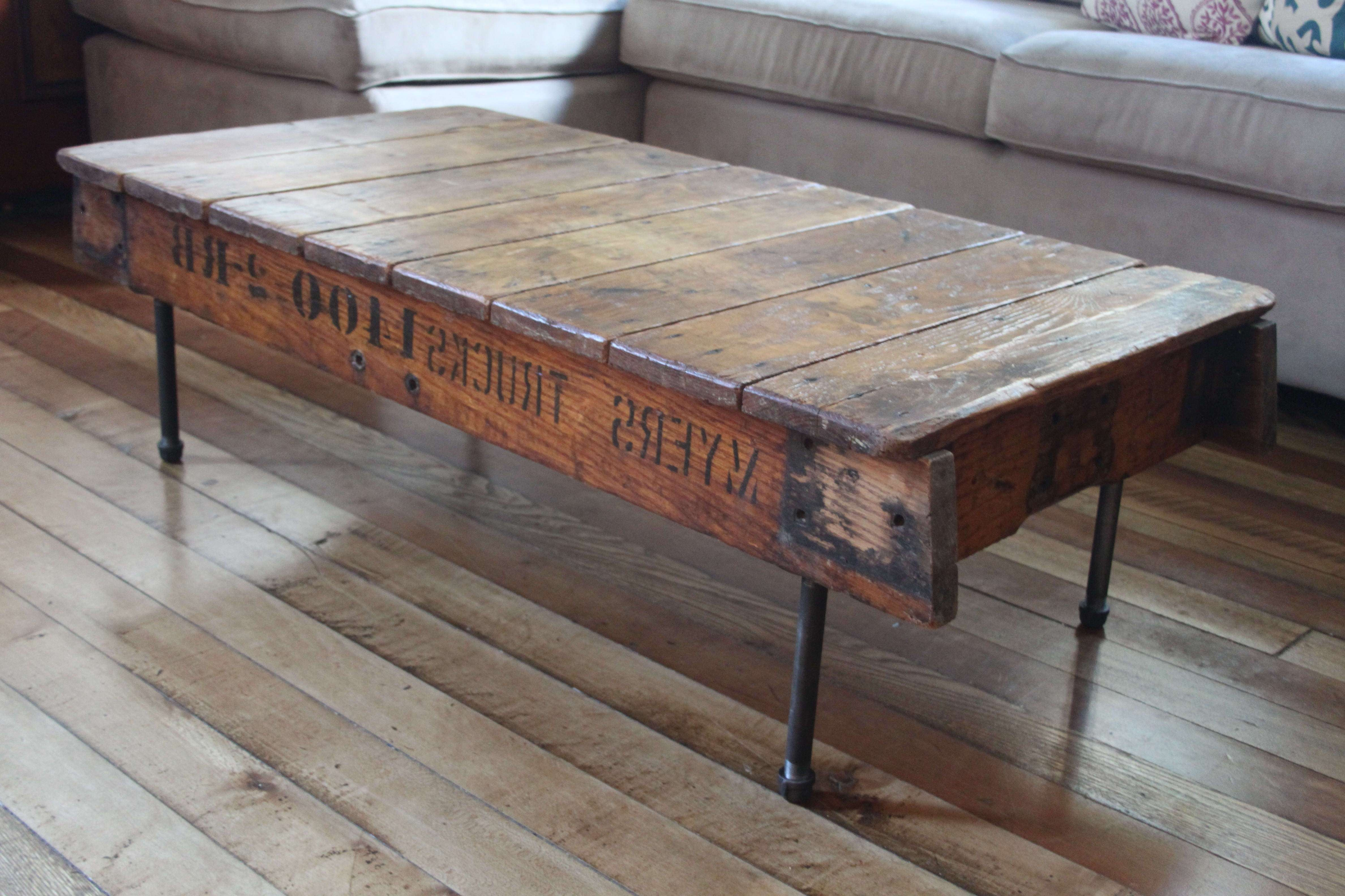 Coffee Tables : Amazing Barn Wood Coffee Table Ideas Reclaimed With Regard To Popular Reclaimed Oak Coffee Tables (View 3 of 20)