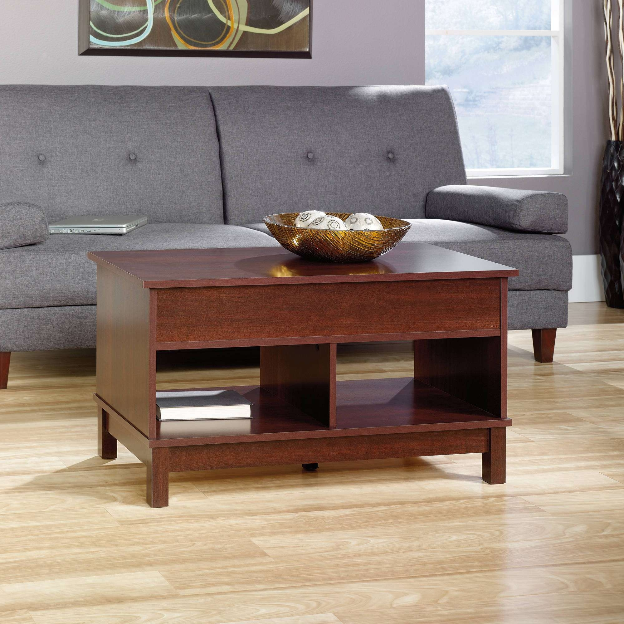 Coffee Tables : Ana White Diy Lift Top Coffee Table Rustic X Style Regarding Popular Elevating Coffee Tables (View 17 of 20)