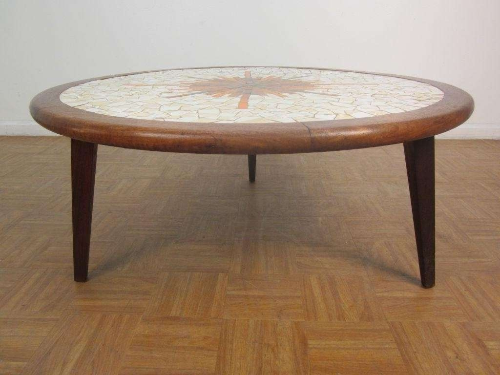 Coffee Tables : Attractive Cheap Round Coffee Table Modern Circle Within Latest Birch Coffee Tables (View 3 of 20)