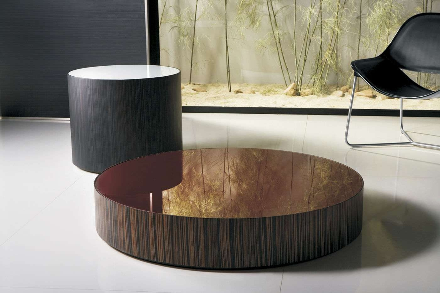 Coffee Tables : Attractive Round Low Contemporary Coffee Tables In Well Known Ethnic Coffee Tables (View 12 of 20)