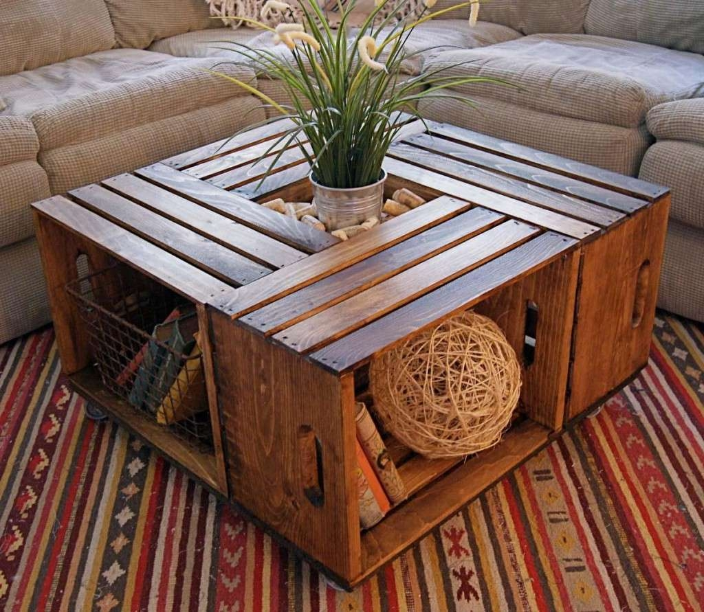 Coffee Tables : Attractive Unique Wooden Coffee Tables For Lift Pertaining To Favorite Wooden Coffee Tables (View 3 of 20)
