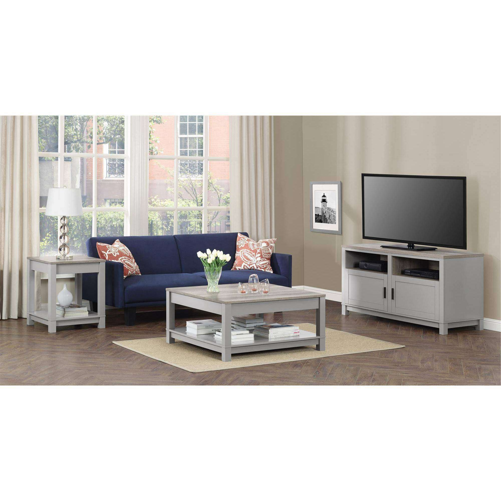 Coffee Tables : Black And White Paint Glass Coffee Table Living With Regard To Famous Coffee Table And Tv Unit Sets (View 11 of 20)