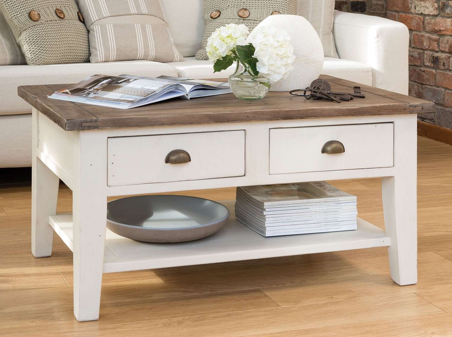 Coffee Tables : Century Rustic Country French Coffee Table Inessa Within Best And Newest Country French Coffee Tables (View 5 of 20)