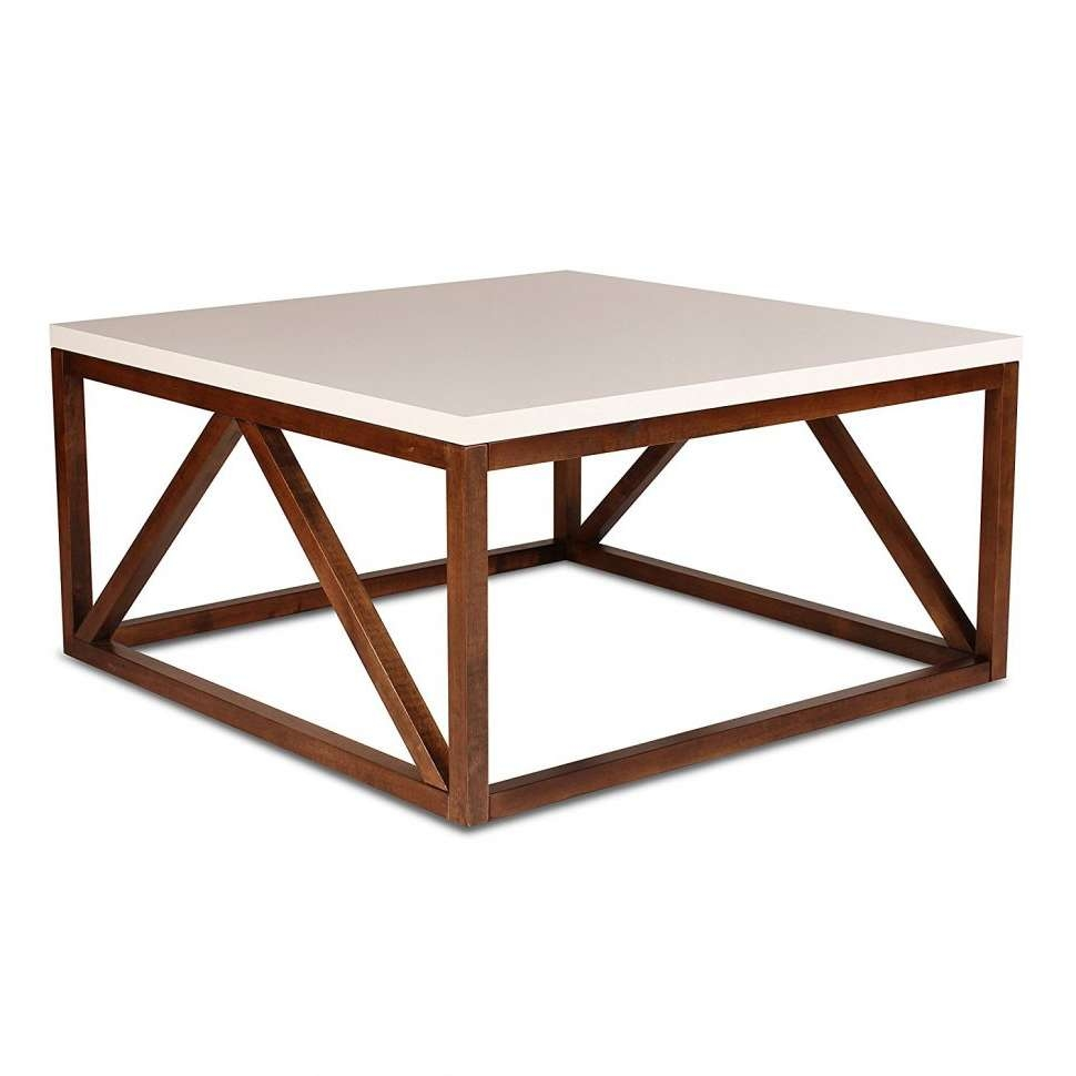 Coffee Tables : Cheap Small Coffee Tables Metal Glass Table Little With Newest Dark Wood Square Coffee Tables (View 2 of 20)