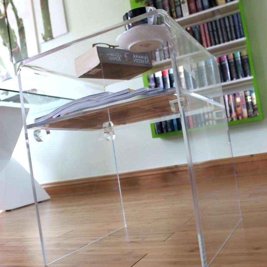 Coffee Tables : Clear Acrylic Coffee Table Numbers Magnificent Within Well Known Acrylic Coffee Tables With Magazine Rack (View 12 of 20)