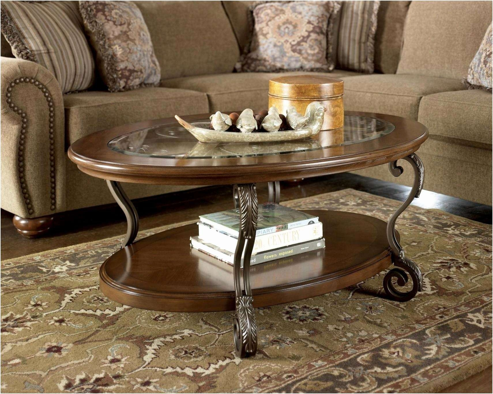 Coffee Tables : Coffee Table Centerpieces Beautiful Oval For Popular Oval Shaped Coffee Tables (View 4 of 20)