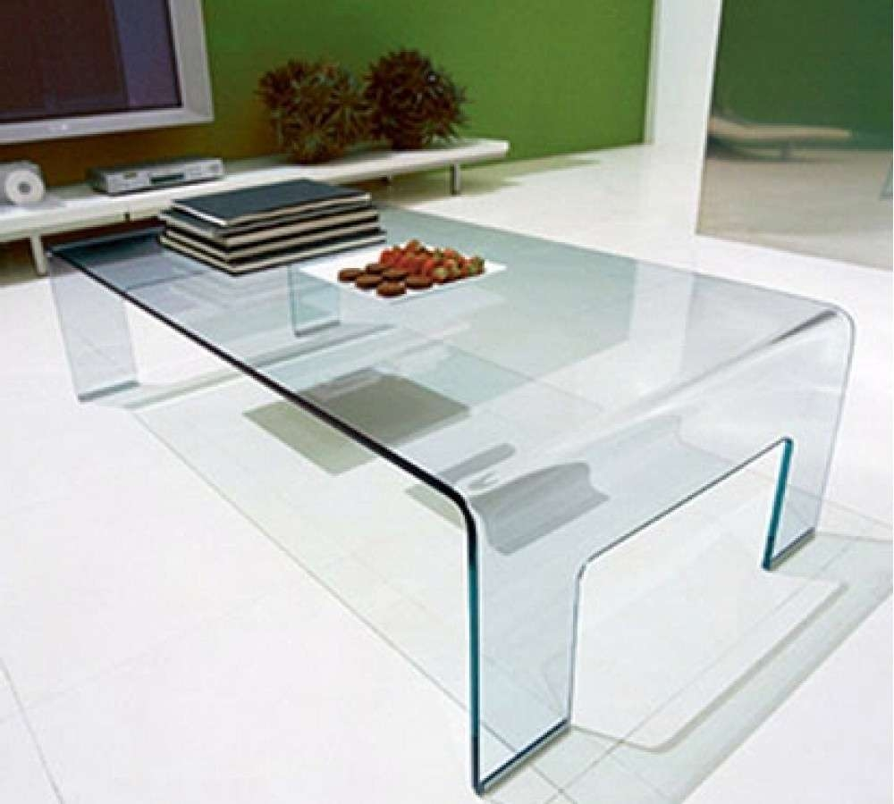 Coffee Tables : Coffee Table Chic Glass Modern Ideas All Tables L Pertaining To Trendy Large Glass Coffee Tables (View 5 of 20)