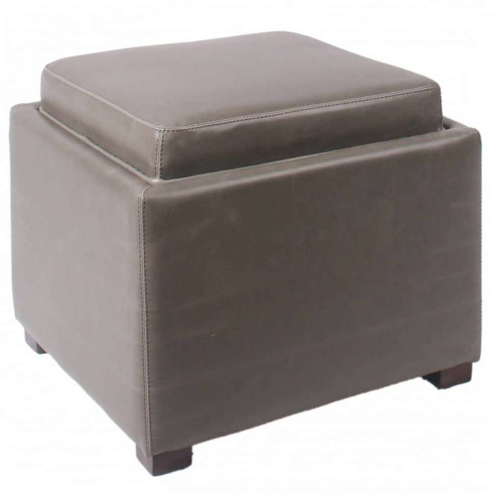 Coffee Tables : Coffee Table Convertible Leather Tufted Ottoman With Favorite Purple Ottoman Coffee Tables (View 18 of 20)