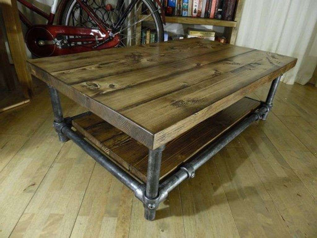 Coffee Tables : Coffee Table Diy Plans Free Woodworking For Shaker With Regard To Newest Rustic Storage Diy Coffee Tables (View 7 of 20)