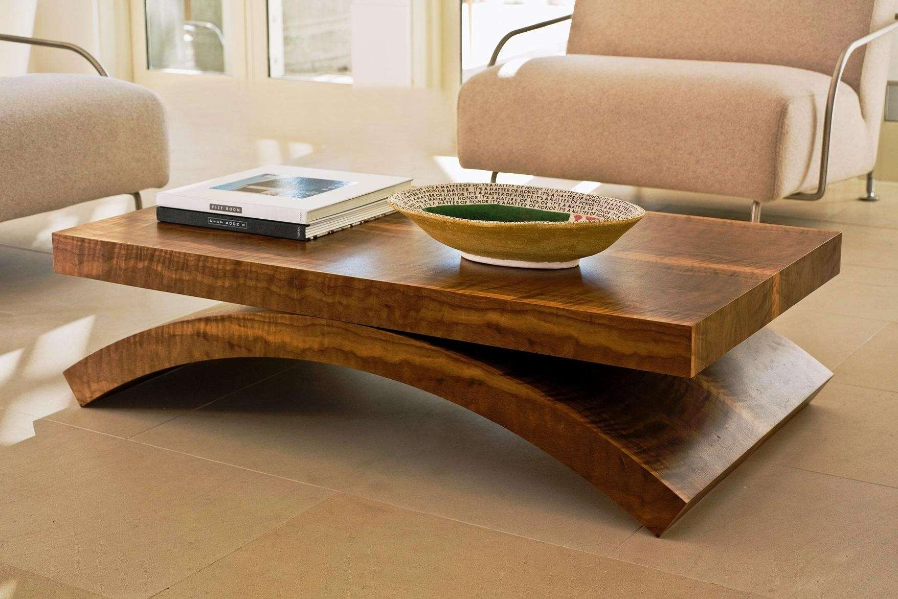 Coffee Tables : Coffee Table Low Wooden Decoration Ideas Copper Pertaining To Famous Large Low Wood Coffee Tables (View 6 of 20)