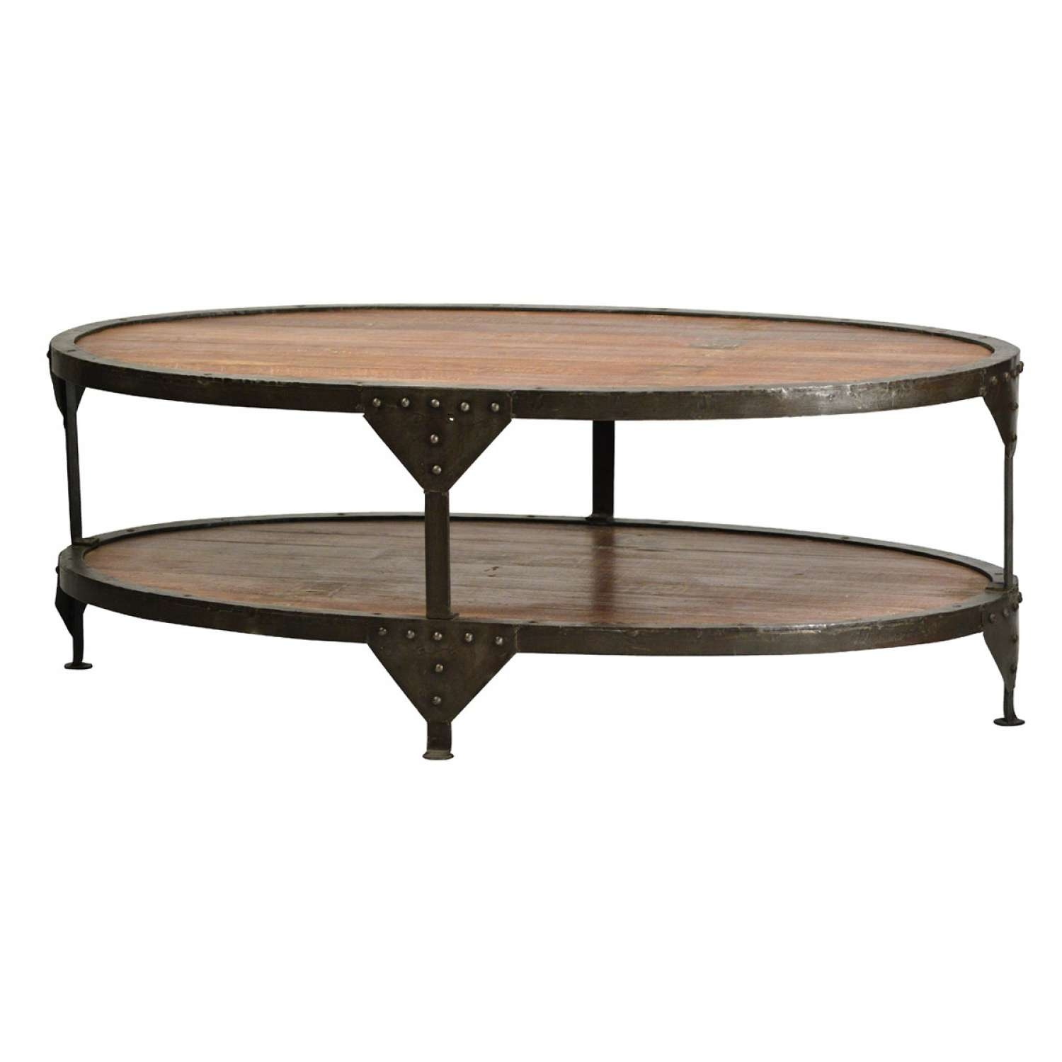 Coffee Tables : Contemporary Oval Coffee Table Glass Gold Small Throughout Latest Oblong Coffee Tables (View 6 of 20)