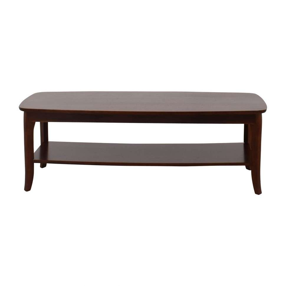 Coffee Tables : Convertible Coffee Table White Square Glass And Pertaining To Most Recent Retro Oak Coffee Tables (View 9 of 20)