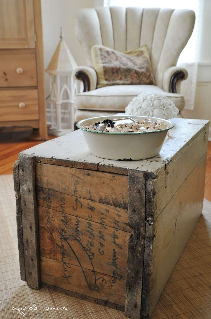 Coffee Tables : Decorative Storage Trunks World Map Coffee Table With Most Popular Old Trunks As Coffee Tables (View 14 of 20)